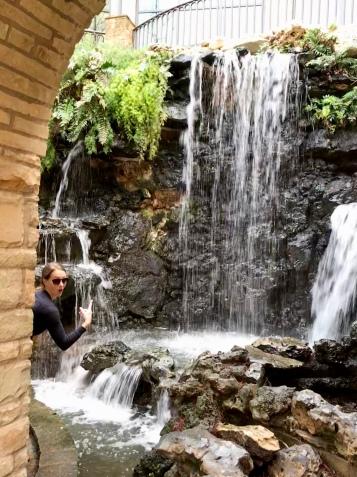 Hidden River Walk waterfall