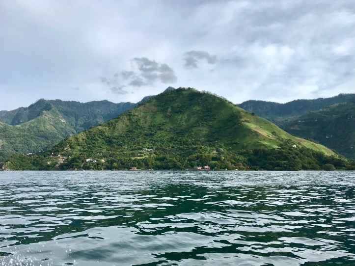View from Lake Atítlan, Guatemala