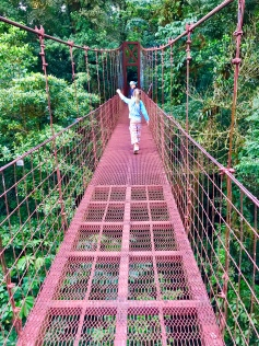 No trip to Monteverde Cloud Forest is complete without the hanging bridges!