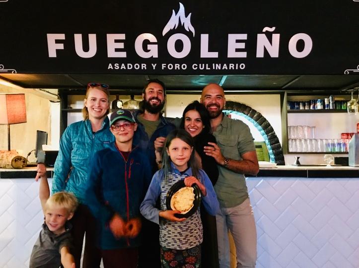 Fuegoleño restaurant in Puebla, Mexico